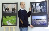Artur Bieńkowski swymi fotografiami opowiada o Podlasiu i koniach ze stadniny w Janowie Podlaskim