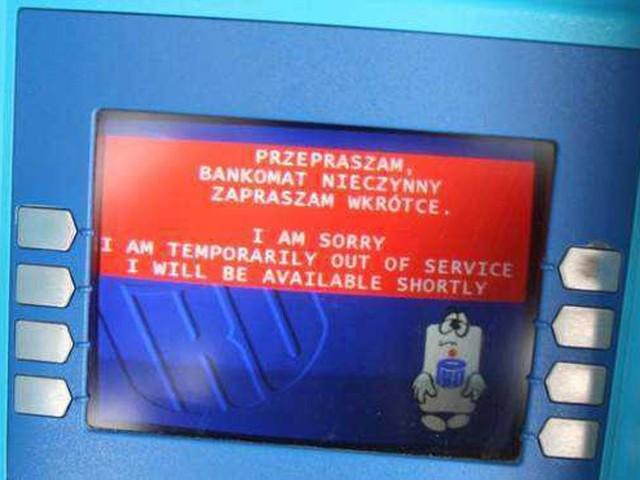 Leszek K. ukradł z bankomatów blisko 470 tys. złotych.