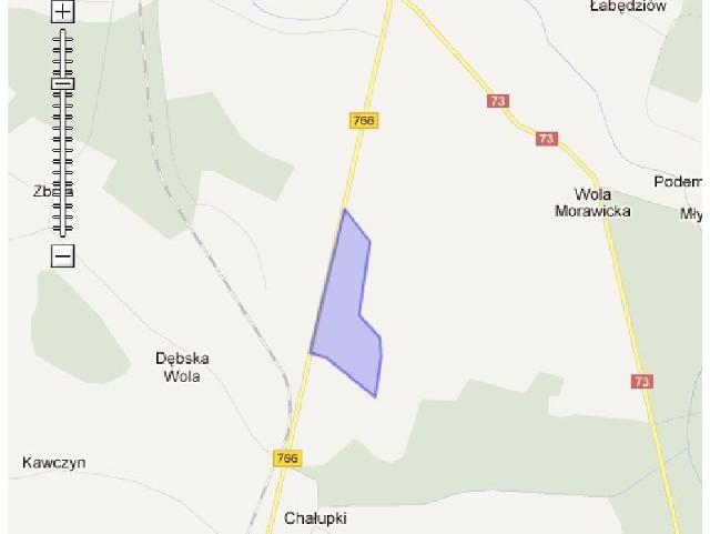Podstrefa Morawica stanowi obszar o powierzchni ponad 80 hektarów. (fot. www.sse.com.pl)