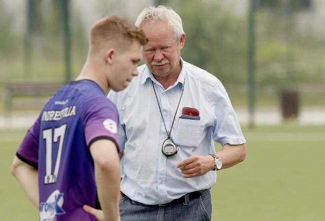 Trenerem Andrespolii jest były piłkarz Wielkiego Widzewa Krzysztof Kamiński