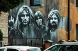 Pink Floyd w Bydgoszczy. Na Glinkach powstał nowy mural autorstwa Juliana Nowickiego [zdjęcia]
