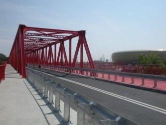 Vistal zbuduje mosty i kładki w Göteborgu Vistal brał udział w przebudowie wiaduktu przy PGE Arenie w Gdańsku