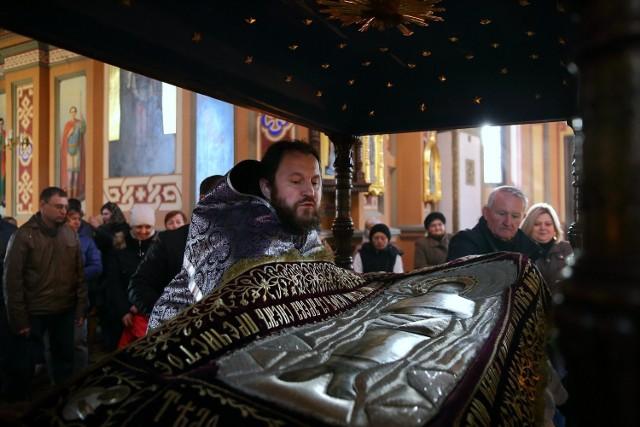 Wielkanoc prawosławna 2018. Uroczystości w cerkwi prawosławnej w Piotrkowie Trybunalskim