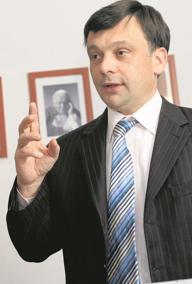 Prof. Mariusz Orion Jędrysek z Wrocławia jest inicjatorem poszukiwań gazu i ropy naftowej w łupkach w Polsce i Europie