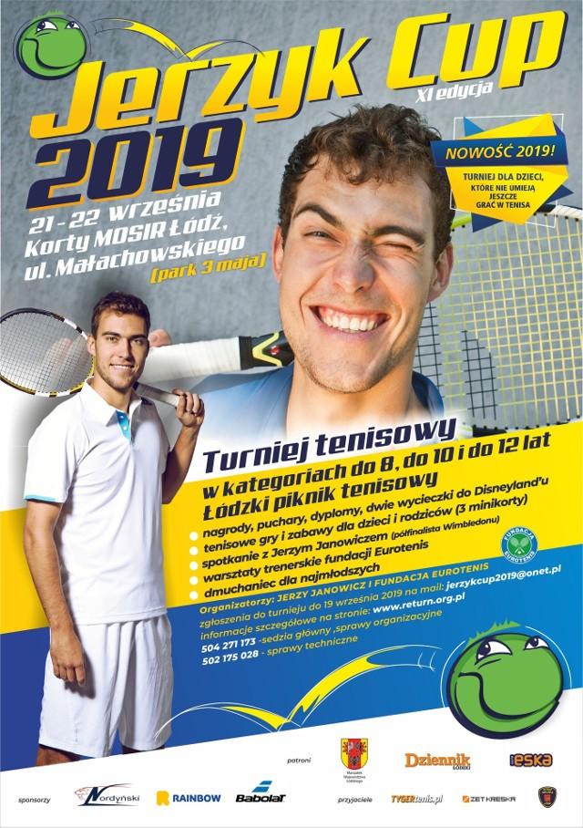 Tak prezentuje się plakat reklamujący Jerzyk Cup 2019