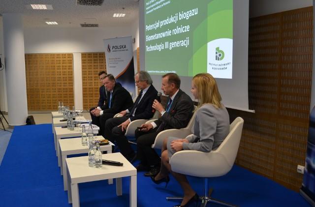 Europejskie Forum Rolnicze 2018 w Jasionce - panel dyskusyjny na temat produkcji biogazu