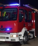Powiat proszowicki. Pożar w piwnicy domu i budynku gospodarczym