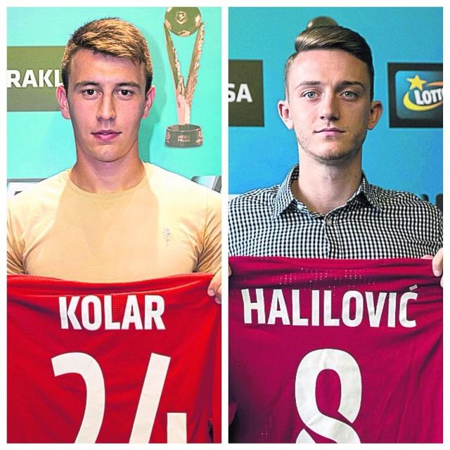 Marko Kolar dopiero czeka na debiut w Wiśle. Tibor Halilović zaliczył w niej już osiem występów