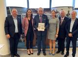 Prezes Polskiego Komitetu Olimpijskiego odwiedził Bydgoszcz