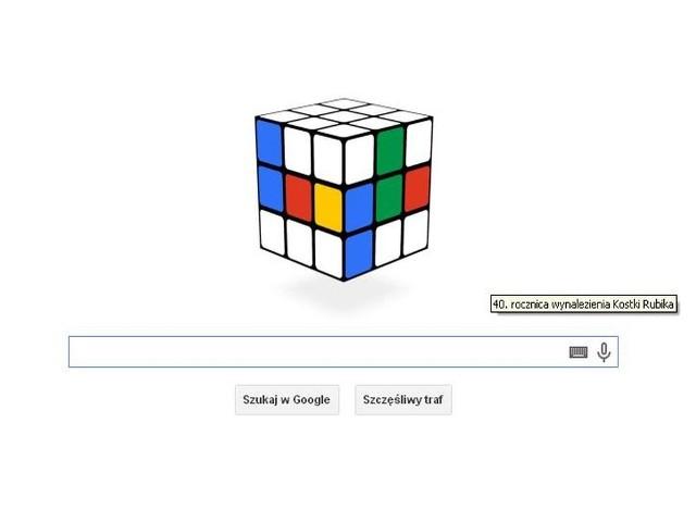 Kostka Rubika: GOOGLE dało DOODLE by uczcić 40. urodziny magicznej kostki