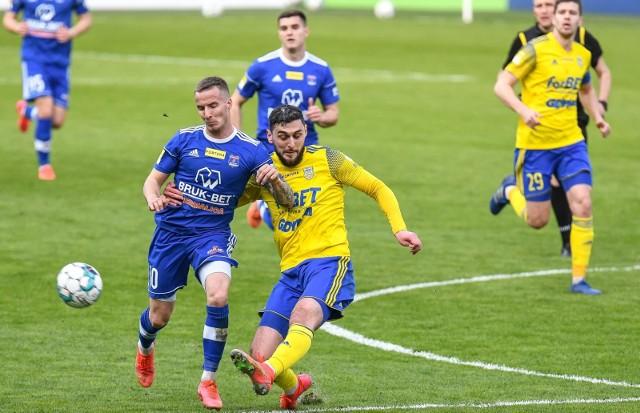 Arka Gdynia pokazała się z dobrej strony w meczu z Bruk-Betem Termaliką Nieciecza.