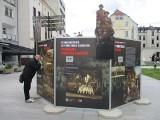 Wystawa z okazji 100. rocznicy III powstania śląskiego na ul. Krakowskiej w Opolu