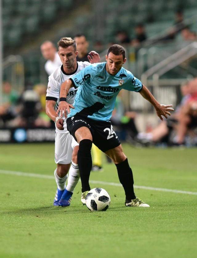 Legia przegrała z Dudelange w pierwszym meczu trzeciej rundy eliminacji Ligi Europy.