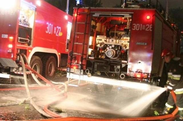 Na pomoc wyjechały trzy zastępy straży pożarnej