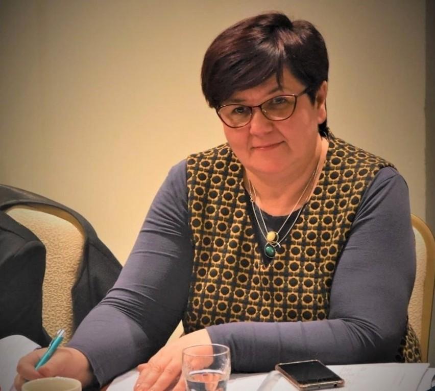 Bernarda Machniak, przewodnicząca Związku Zawodowego Pielęgniarek na Lubelszczyźnie