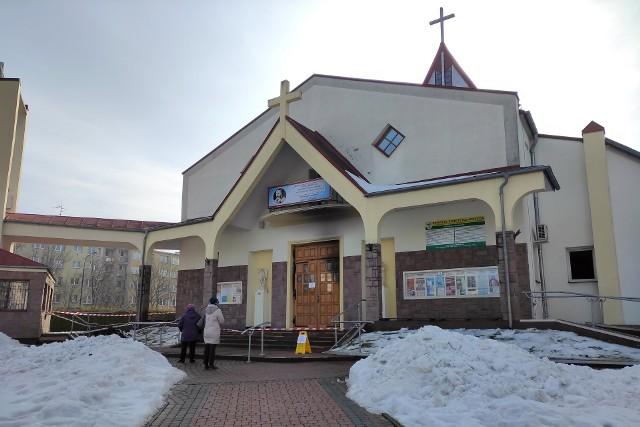 Pożar kościoła przy ul. Pogodnej w Lublinie wybuchł we wtorek