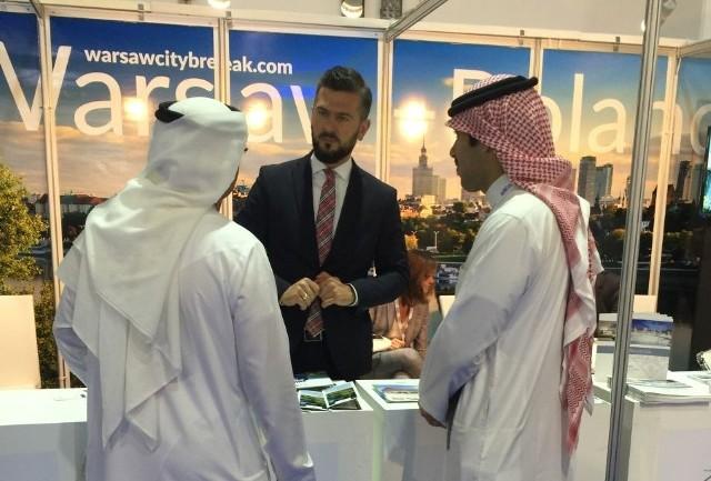 Nasi przedsiębiorcy szukali klientów w... DubajuSebastian Kuśmierek, partner Ośrodka Polanika w krajach arabskich podczas Arabian Travel Market 2016.