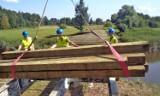 Gmina Krasnystaw. Trwa remont mostu na Wieprzu w Latyczowie. Zobacz zdjęcia