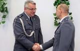 Zastępca komendanta policji w Grudziądzu mł. insp. Tomasz Szczygieł odszedł na emeryturę [zdjęcia, wideo]