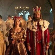 """Tak głównych bohaterów tej opowieści wyobrazają sobie twórcy serialu TVP """"Korona królów"""""""