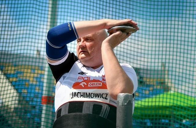 Robert Jachimowicz będzie reprezentował Polskę podczas igrzysk paraolimpijskich w Tokio w konkurencji rzutu dyskiem