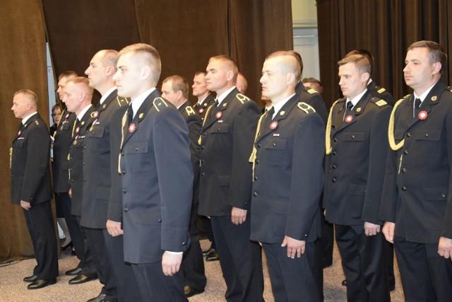 W starostwie Powiatowym w Skierniewicach odbył się we wtorek, 22 maja,. Organizatorem uroczystości była Komenda Miejska Państwowej Straży Pożarnej w Skierniewicach. Były odznaczenia i awanse.
