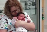 Rekordowy noworodek w Piekarach. Dziewczynka waży prawie 7 kg. Zobacz zdjęcia dziecka