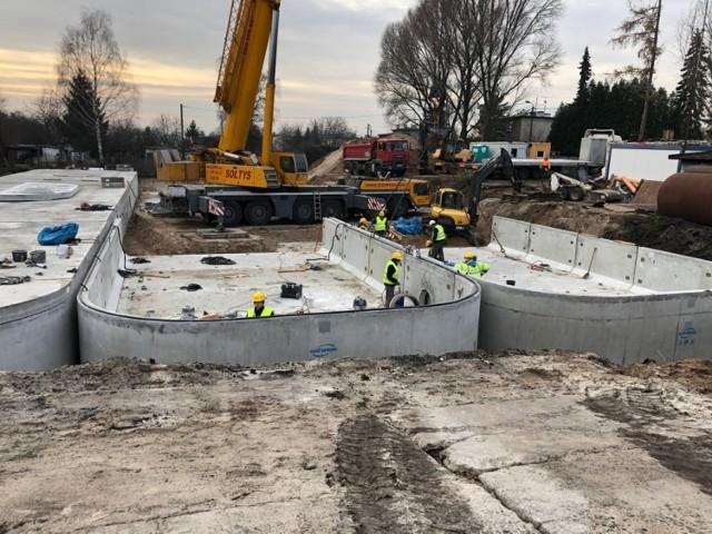 Budowa zbiorników retencyjnych i przebudowa kanalizacji deszczowej w Katowicach