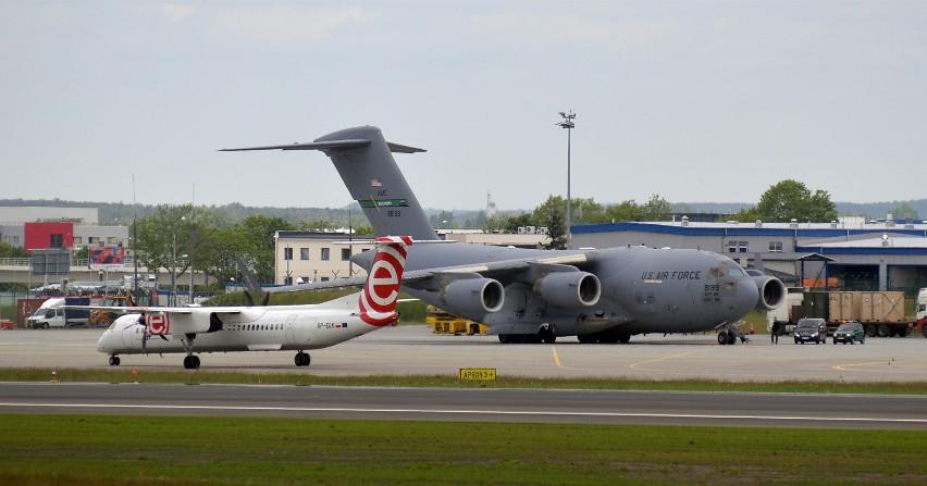 Boeing C-17 Globemaster we Wrocławiu. Zdjęcia ilustracyjne