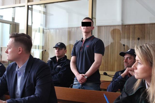 Oskarżony Gracjan S. z wyrokiem 6 lat więzienia