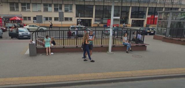 Włocławek - Przyłapani przez kamerę Google Street View na ulicach