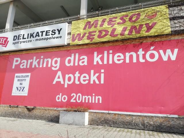 Parking jest dobrze oznaczony - zapewniają szefowie biznesu