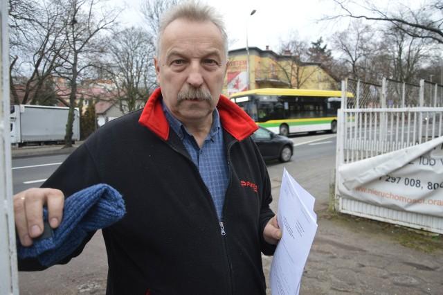 Zbigniew Szafrański jest zmartwiony całą sytuacją. Obawia się, że nawet, jeśli teraz wygra proces to jeszcze latami będzie ciągany po sądach