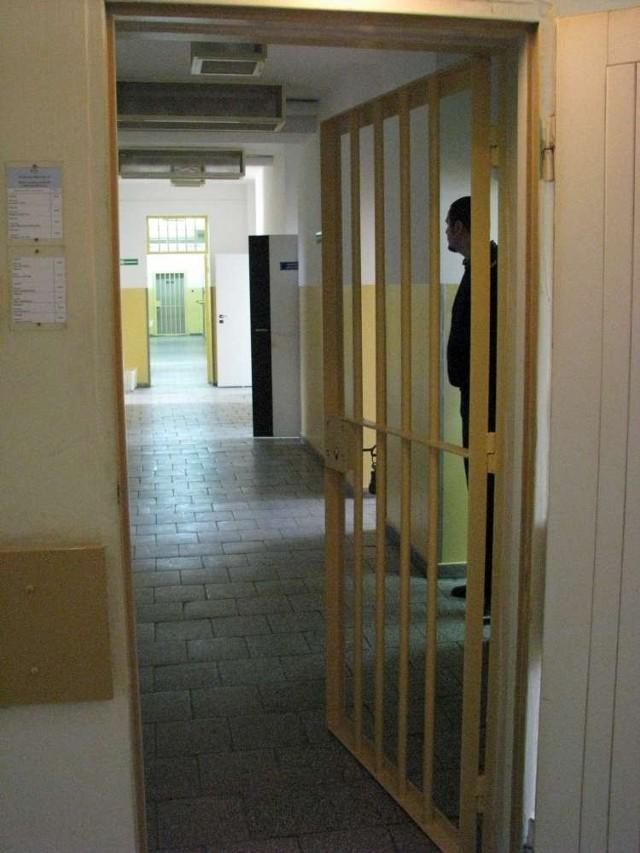 Tak prezentuje się odnowiona izba zatrzymań komisariatu na Nowym Mieście