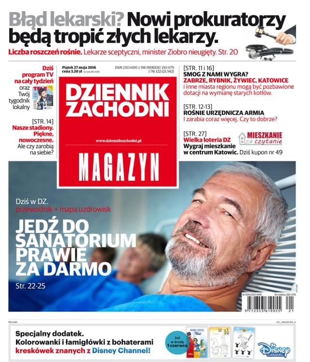 Okładki alternatywne Dziennika Zachodniego na 27.05.2016