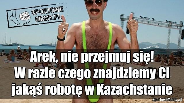 Kazachstan - Polska [MEMY, DEMOTYWATORY, ŚMIESZNE OBRAZKI]