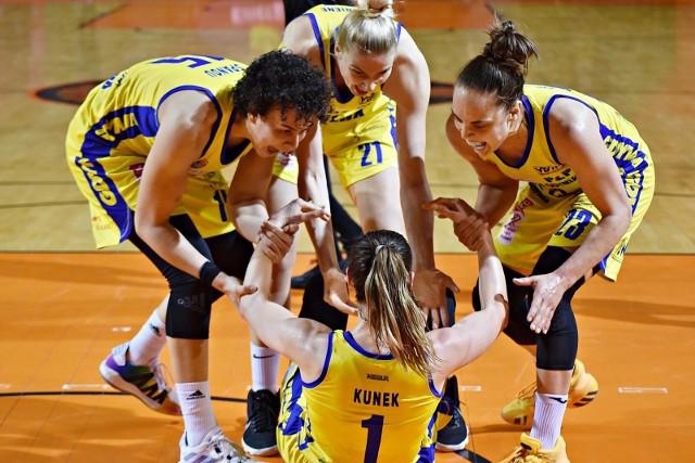 Finał Energi Basket Ligi Kobiet nabrał rumieńców. VBW Arka Gdynia w wyścigu do trzech zwycięstw remisuje 2-2 z CCC Polkowice