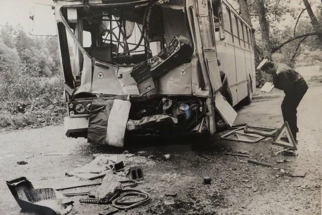 Oto kolejne zdjęcia z archiwum Gazety Współczesnej. Czy kiedyś na drogach było bezpieczniej? Wcale nie. Zobacz zdjęcia z wypadków z całego regionu.