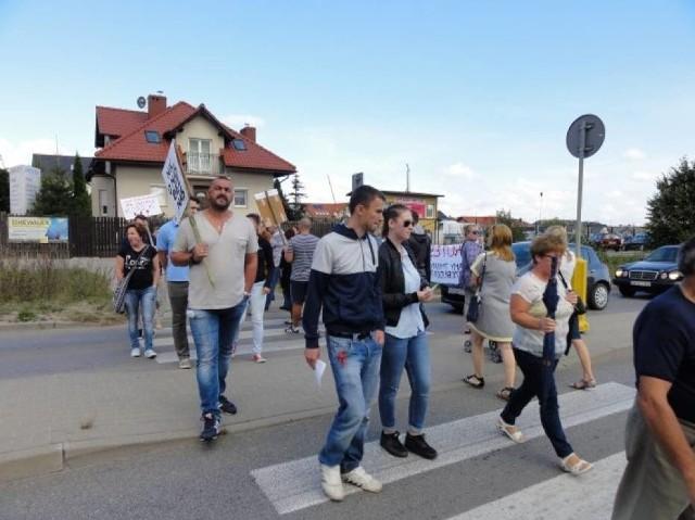 Protest w Kowalach (17.09.2016)
