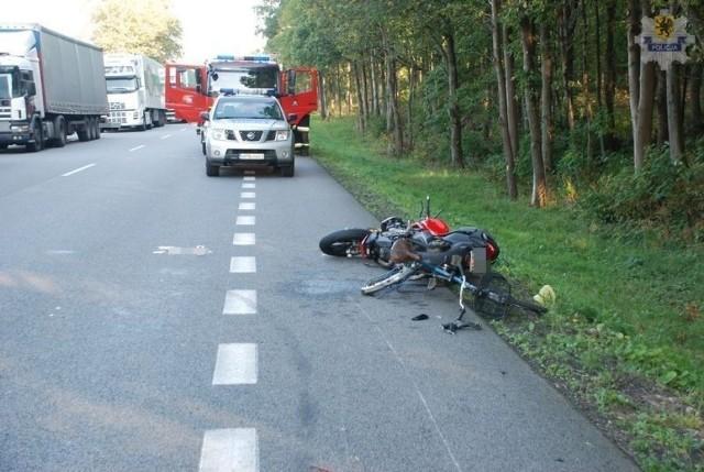 Do wypadku doszło w środę w Leśnicach