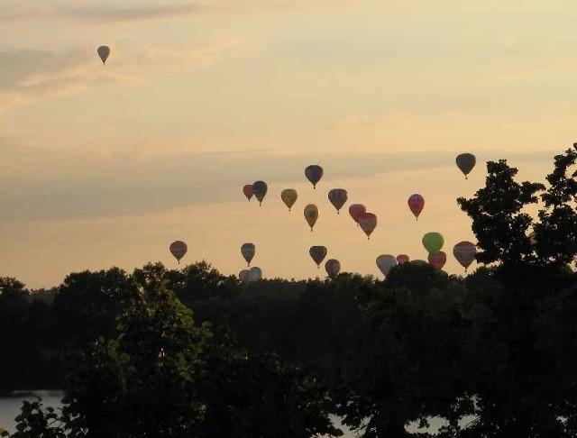 Balony nad Ełkiem