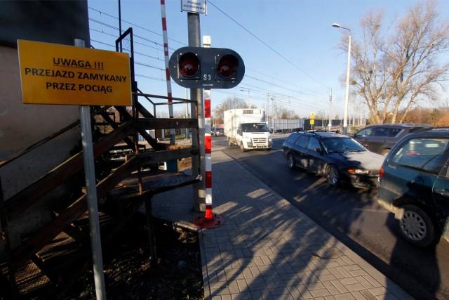 Przejazd kolejowy na ul. Średzkiej