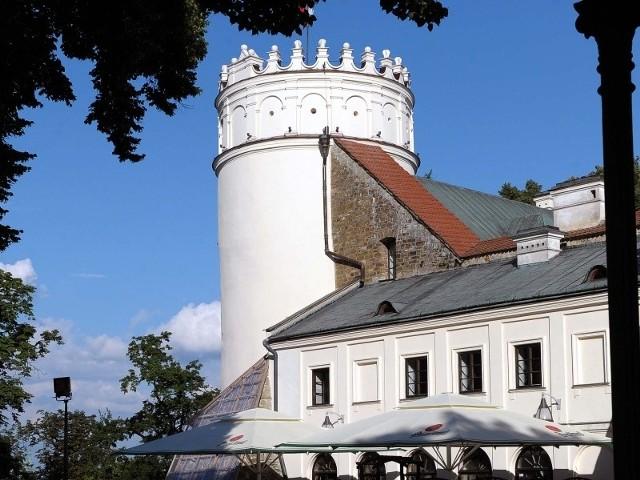 Baszta na Zamku Kazimierzowskim w Przemyślu.