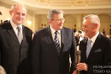 Prezydent Komorowski docenił toruńskie Opatrunki! [zdjęcia]