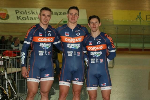 Od lewej: Damian Zieliński, Kamil Kuczyński i Maciej Bielecki.
