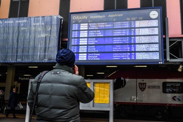 Nowy rozkład jazdy PKP oznacza pozytywne zmiany dla Wielkopolski