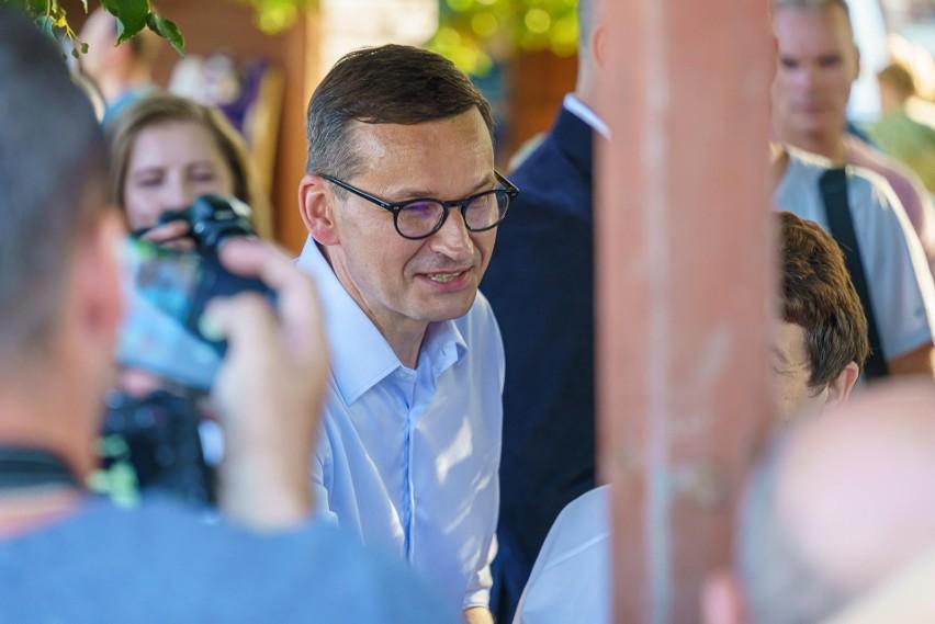 Wizyta premiera Morawieckiego w Starym Sączu
