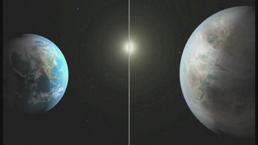 Naukowcy z NASA przypuszczają, że na nowo odkrytej planecie,...