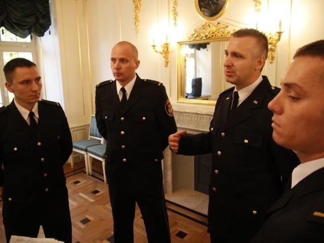 Od lewej: Krzysztof Kościuczyk, Marek Nowak, Stanisław Totczyk i Maciej Filipiuk