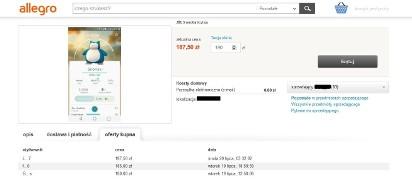 fa15e444165b6 Konto na Pokemon Go na sprzedaż. Kupisz je za 400 zł  Trwa ...